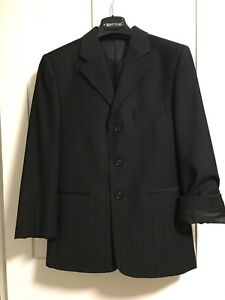 First Communion / wedding event black suit for a boy