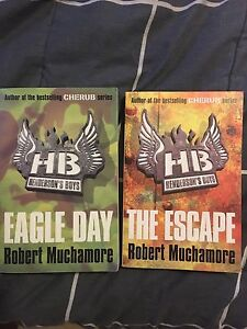 HENDERSON BOYS Books 2 for 1 (eagle day and the escape) Indooroopilly Brisbane South West Preview