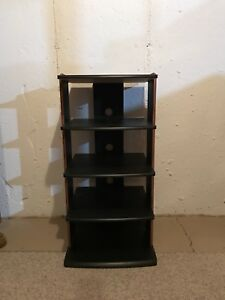5 tier entertainment stand