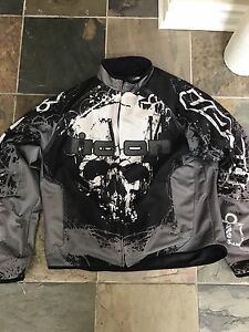 Men's icon Hooligan decay motorcycle jacket