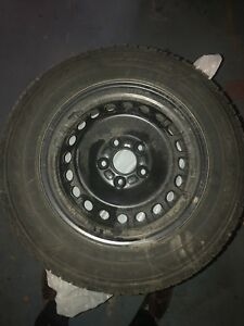 Goodyear Ultragrip Winter tires 15''   Used one season!!