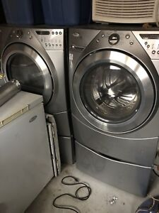Front load washer and dryer as is