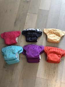 Bum Genius AIO Freetime cloth diaper lot of 11
