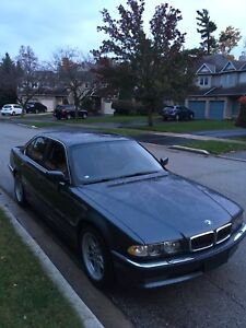2001 Bmw 740i /// Mint Condition/// Low-Mileage.