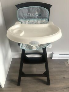 Summer infant wooden high chair.