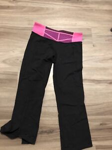 Size 4 Lululemon Crops - Like New Condition