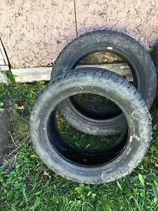 Two winter tires 205/55R16