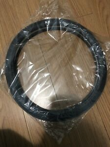 car steering wheel leather cover brand new