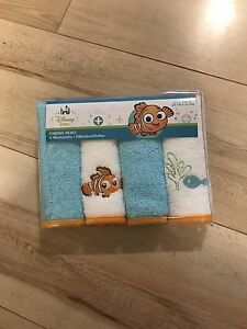 Brand New Disney Washcloths