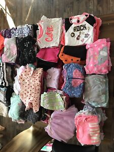 Girl 18 and 24 month clothes - linge fille 18 et 24 mois