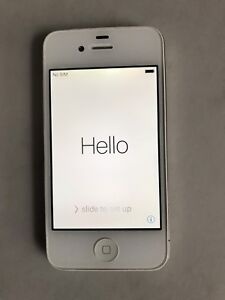 White iPhone 4s 16Gb Unlocked only $60