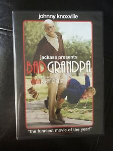 Bad grandpa DVD
