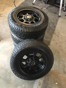 Custom rims and tires