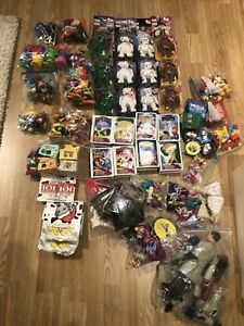 Huge lot McDonald's happy meal toys