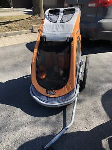 Double Bike Trailer & Stroller