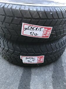 205/75R15 winter tires (2)