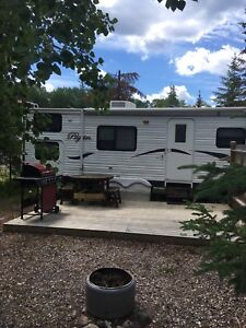 Trailer and Boat Package at Nobles Point RV Resort Candle Lake