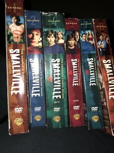 Smallville and Doctor Who DVD