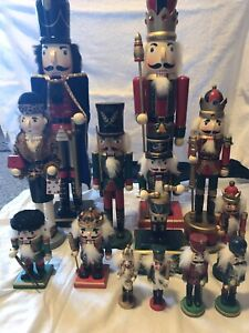 Wood Nutcrackers collection