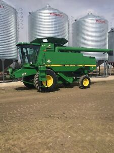 1997 John Deere CTS with 914 pick up