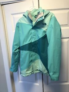 North Face Girls  Triclimate 3-1 Winter Ski Jacket size XL 18