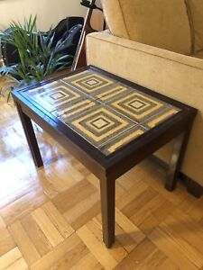 MCM Mid-century Danish Side/End Table by Kvalitet Form Funktion
