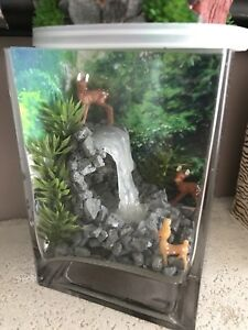 Fairy garden waterfall/ Bookend
