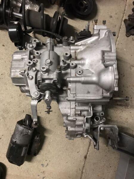 Starlet GT C52 5 Speed Transmission Gearbox 4EFTE | Engine