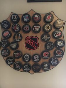 NHL Puck Plaque $125 or best offer!