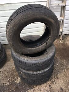 205/70R15 MOTORMASTER AW II- Set of 4 used tires for sale