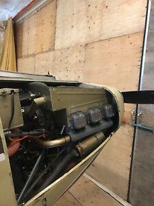 165hp Franklin Firewall Forward Airplane  Engine
