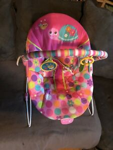 Pink baby chair