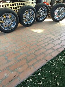 20 inch chrome wheels West Perth Perth City Area Preview