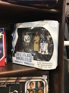 Star Wars Trilogy DVD Collection Figures