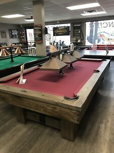 Pool Tables, Shuffleboards & Pool Cues