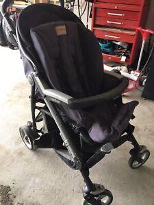 Peg Perego Pliko Four Stroller, Denim