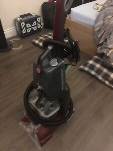Hoover laveuse a tapis