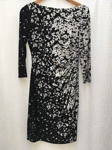Ralph Lauren size 6 black and white dress