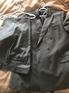Calvin Klein Double-breasted Suit from Moore's