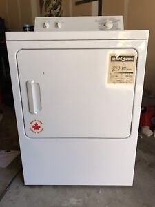 White GE Electric Dryer