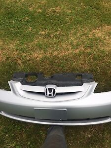 2001-2003 Civic Coupe Bumpers
