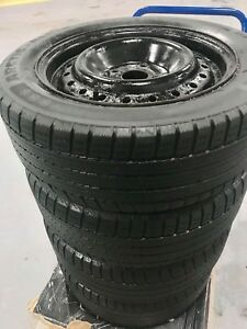 195/55/15 WINTER MICHELIN TIRES ON RIMS $35 EACH