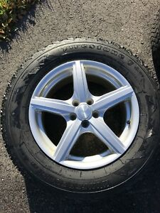 Winter Tires and Winter Alloy Rims - P215/70R16