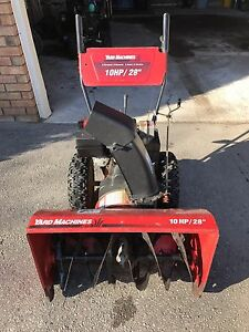 "Yard Machines 10 HP / 28"" Snowblower"