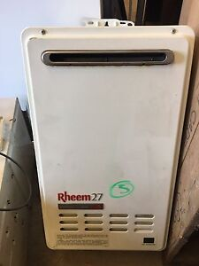 Rinnai Bosch Rheem continuous NATURAL GAS hot water systems Ashfield Ashfield Area Preview