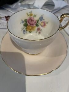 Paragon peach tea cup