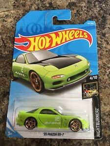 2018 Hot Wheels '95 Mazda RX-7