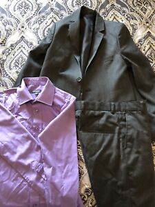 Boys suits, dress shirts, vest, and sweaters sizes 7-12