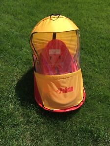 Pelican baby sled deluxe with windshield