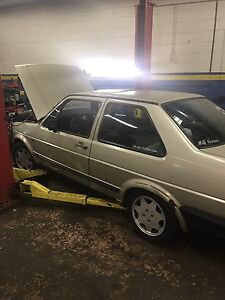 1987 Jetta coupe rolling shell
